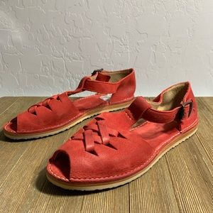Frye Shoes - Frye Holly Fisherman Sandals - in red